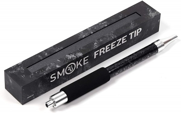 Smoke2u Freeze Tip Eis Mundstück Schwarz