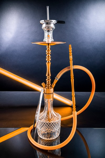 Dschinni Stealth Bomber Classic Gold Shisha (Bass Box Edition)