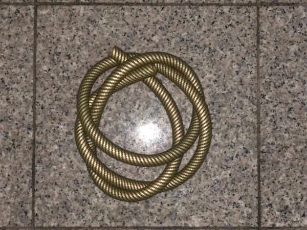 Silkonschlauch MATT- Carbon - GOLD