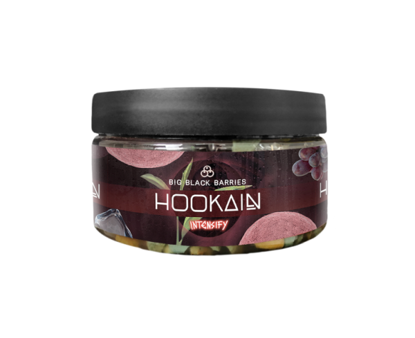 Hookain Intensify Stones 100g - Big Black Barries