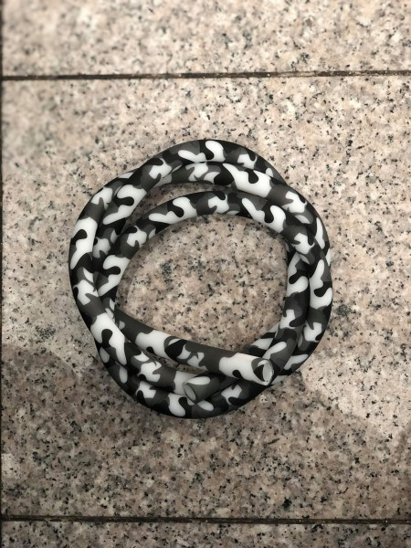 Silikonschlauch Soft-Touch Black Camo