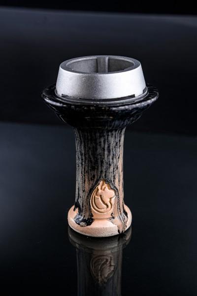 Dschinni Schamottstein Phunnel Royal Negro + Smoke Box