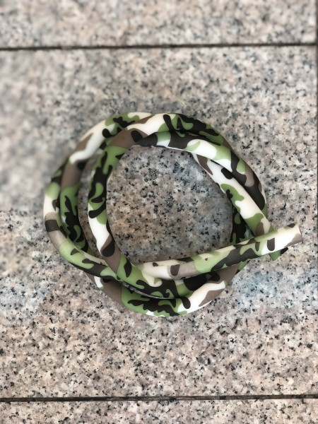 Silikonschlauch Soft-Touch Green Camo