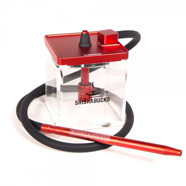 Cloud|Micro Hookah – Red