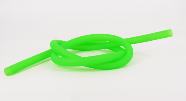 Silikonschlauch MATT - Neon Grün