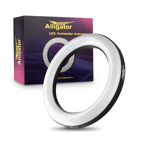 Smokah| Spectrum | LED Kohleteller UFO Ring | 20cm