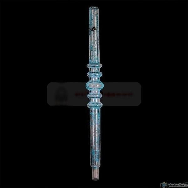 Steamster Glas-Mundstück 22cm Glow Blue